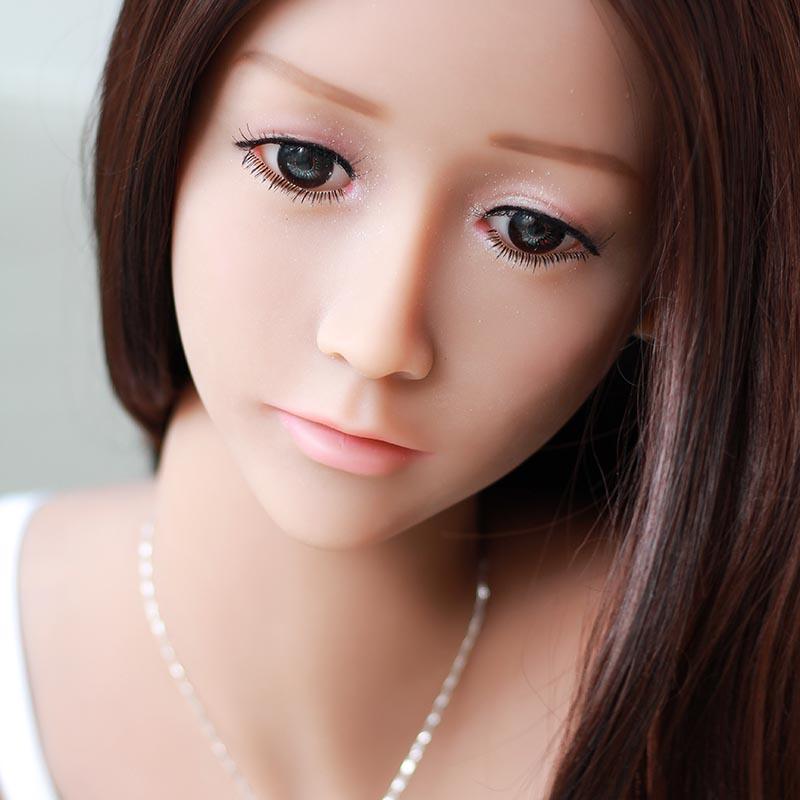 Yvonne 165cm Real Sex Doll mit üppiger Busen - Puppe Sex